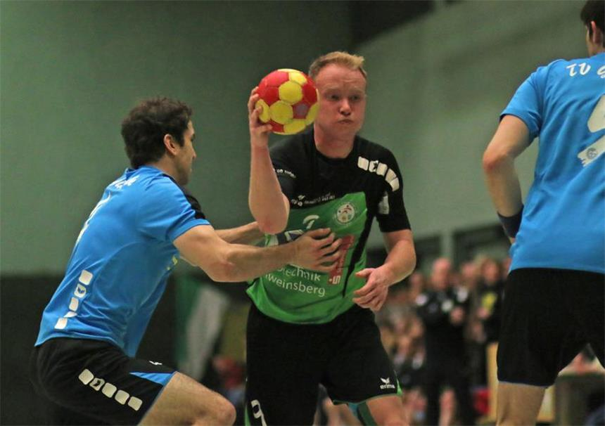Handball Blaue Karte.Sus Olfen Spielt Remis Im Spitzenspiel