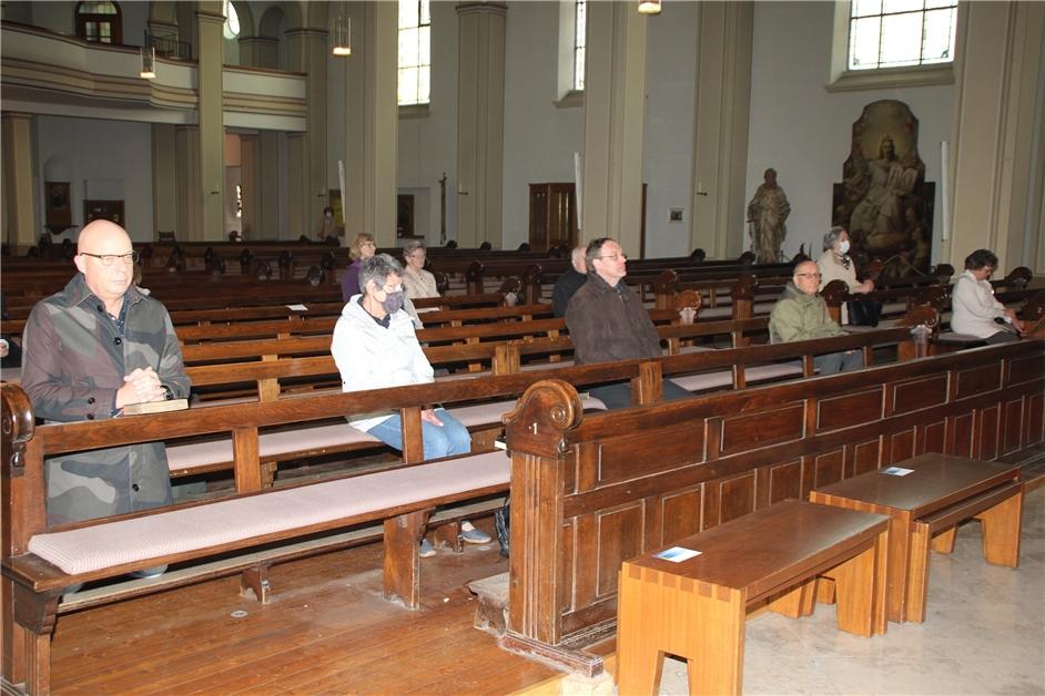 Kirche Mundschutz