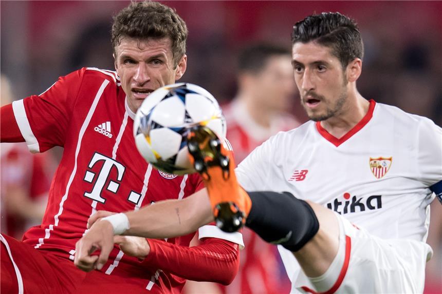 Rückspiel Bayern Sevilla