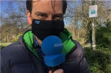 Video: Haben die Dortmunder in den Parks tats�chlich Masken getragen?