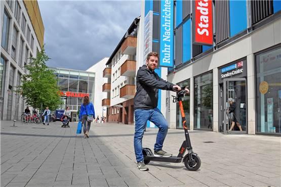 9ac5211a9c176 E-Scooter im Test: So gut funktioniert das neue Leih-System in Dortmund