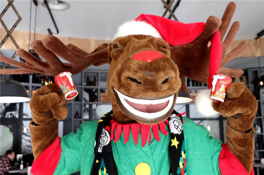 Glühweinpreise Weihnachtsmarkt.Die Dortmunder Weihnachtsmarkt Tasse 2018 Ziert Ein Elch