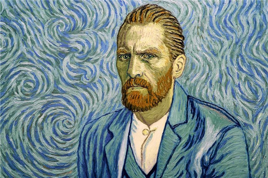 "In dem Animations-Film ""Loving Vincent"" ist"