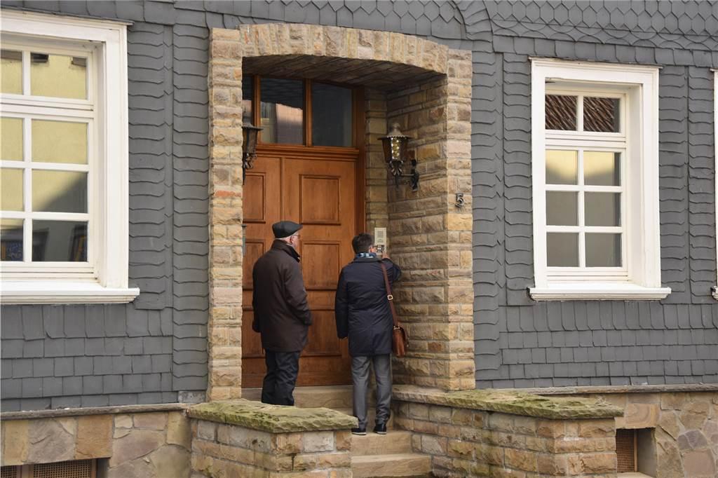 Nächtliches Klingeln An Der Haustür
