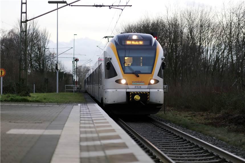 Streckensperrung Züge Der Eurobahn Fielen Freitagabend Zwischen
